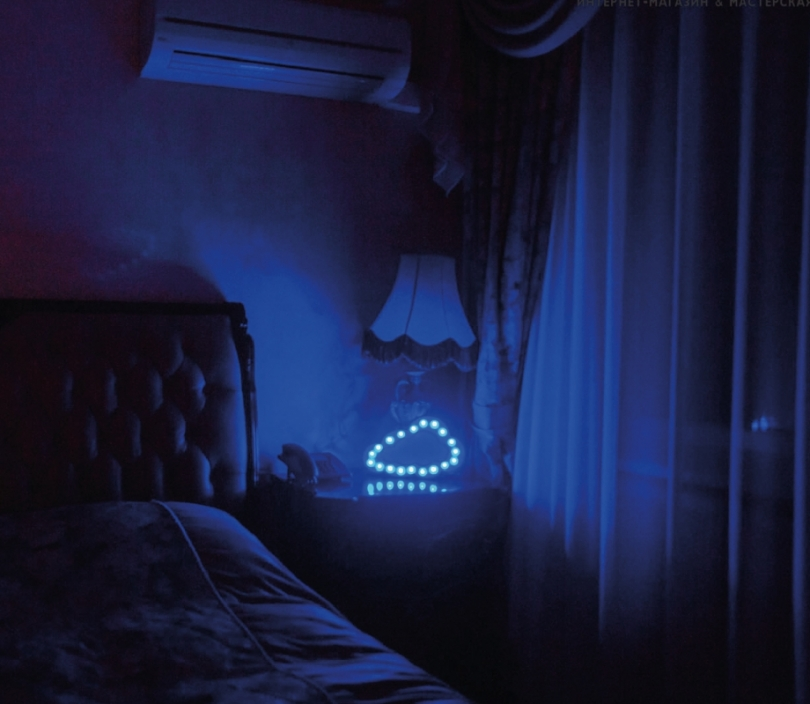 Cloud Sign Wall Lamp